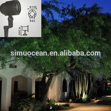 6 W IP65 led Garden Bollard Lights for garden, landscape free sample