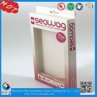 Cell Phone Case Paper Packaging Box, Phone Charging Box, Tablet Pc Case Paper Packaging Box