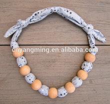 Children chunky Bubblegum Beads Necklace, Kids Rainbow flower Beads Necklace