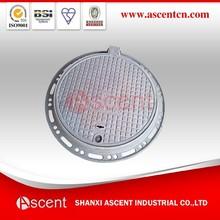 B125 Round Hinge Type Single Seal Manhole Cover