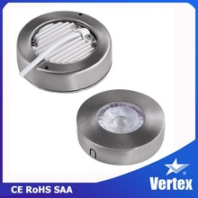3W 2015 new product CE & SAA high quality mini cabinet 3w ceiling led cob downlight