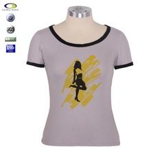 Cheap High quality fashion t-shirt woman 2014 in China