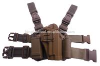 Drop Leg CQC P266 Plastic Gun Holster Thigh Gun Holster Fit Right Hand