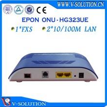 2fe + 1fxs ports fiber voip ftth epon optical network unit onu