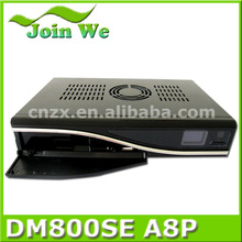 digital satellite tv receiver dm800se sim a8p dvb-s2 tuner bcm 4505 or alps m 801 tuner stock