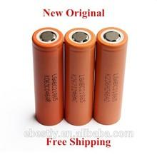 20PCS New Original LG 18650 battery 2800mAH 18650 3.7v li ion battery battery Orange Color Free shipping