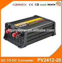 DC/DC Converter 24V to 12V 20A for Electric Car