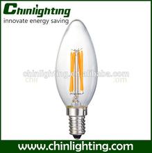 e14 c35 led filament candle bulb lighting led filament candle e14 c35 led lighting g45 at25 c35 ce/rohs candle bulb