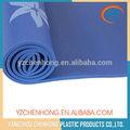 Venta al por mayor de flores azul de impresión del pvc ecológico esteras/alfombrillas gimnasio en gimnasia