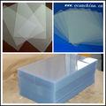 velluto di plastica rigida trasparente sottile foglio di pvc per termoformatura