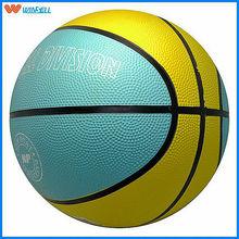 2015 newest league bouncing rubber basketball