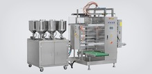MLF-880L vertical full automatic PLC controlled plastic bag liquid high-speed shampoo packing machine