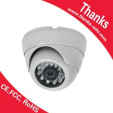 "New! smart IR 20M Color 1/4"" CMOS 700TVL indoor cctv camera dome camera case"