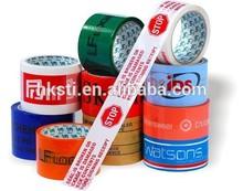 Good Viscosity BOPP Packing Tape Custom Printed LOGO Super Clear Sellotape