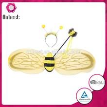 ingrosso bambini si vestono fata ali delle api con la bacchetta per la decorazione di festa