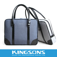 Fatory Price Kingsons Lady Learther laptop hand bag hot sale