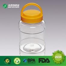 2015 empty clear cosmetic plastic jars 500ml