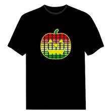 Fashion Led light Music T shirt,LT-010