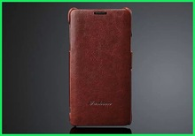 hot sale retro brown leather case for samsung galaxy note 4 unlocked original