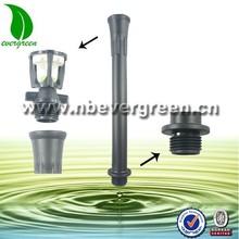agriculture irrigation system male to female PP pipe riser for wobbler sprinkler
