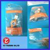 Frost PVC bag, PVC waterproof plastic bag, PVC zipper bag