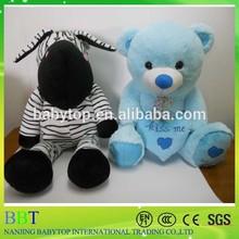 China Wholesale Kid Toy Christmas Gift big size Zebra Stuffed Toys Plush Toys