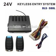 12V/24V code learning and remote keyless entry, Car/bus/truck keyless remote smart key keyless entry system