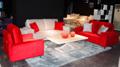 Casamento sofa 1+2+3 sofá da tela sofá da tela moderna jf927