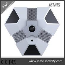 360 Degree Full HD Fisheye Lens 5.0MP/1.3MP P2P POE Onvif IP Camera(JM-FE500B)