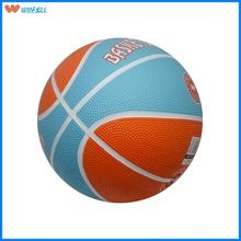 Hot sell league custom logo rubber basketball