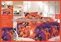 100%polyester luxury Super-soft velour bed sheet set