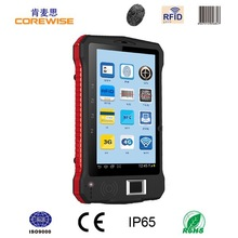 7 inch rugged industrial 3g wifi android rfid tablet with fingerprint reader,2d barcode scanner