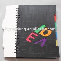 cheap bulk journal supply double spiral notebook