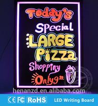 Hot sale blackboard 60x80cm marker pen Diy led writing board