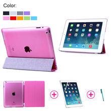 Smart Cover for iPad4, for ipad PC cover, for ipad 4 sreen protector