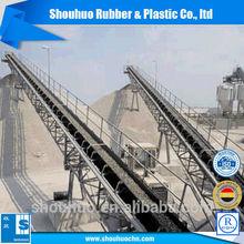 fabric reinforced industrial ep rubber conveyor belt