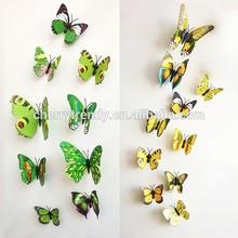 Beautiful 3D Butterfly Sticker Decoration Art Design Decal Home Wall Decor
