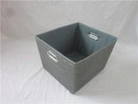 Household Essentials Decorative Storage Bins, 2pk,