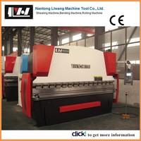 NANTONG LIWANG WC67Y-160/2500 used steel bending machine for sale