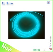 colourful multi color el wire decorative el wire kits