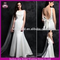 SD1667 sexy backless weding dresses fishtail wedding dress in mermaid cut