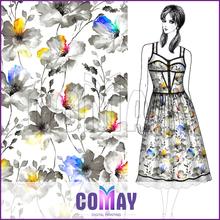 Fashion New 2015 Luxury Beaded silk kaftan dress