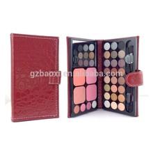 New arrival! travel makeup kit in wallet, 32 color makeup palette