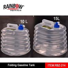 Portable Collapsible Polyethylene Gasoline Fuel Tank