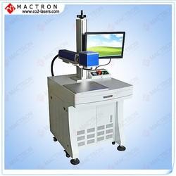 Fiber Laser Marking Machine Stainless Steel Marking / Nameplate Marking