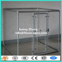 galvanised welded wire mesh Fence Dog Run security