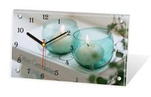 Promotion unique gift antique wooden desk clock