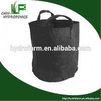 hydroponics 1,2,3,5,10,15,20,25 gallon fabric pot /plant pot roller
