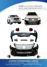 High Quality body kit for LX570 2013 DESIGN FIT FOR LAND CRUISER FJ200 07-13