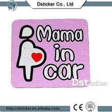 Light reflection 3M warning car label sticker